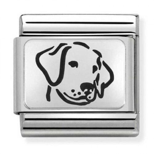 Silvershine Oxidised Plates Dog Charm Stanley Hunt Jewellers - 330109/06