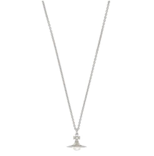 Simonetta Silver Tone Necklace Stanley Hunt Jewellers - 63020321-02W360