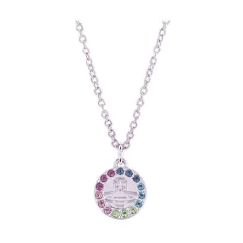 Claretta Rhodium Necklace Stanley Hunt Jewellers - 63020282-W304-CN