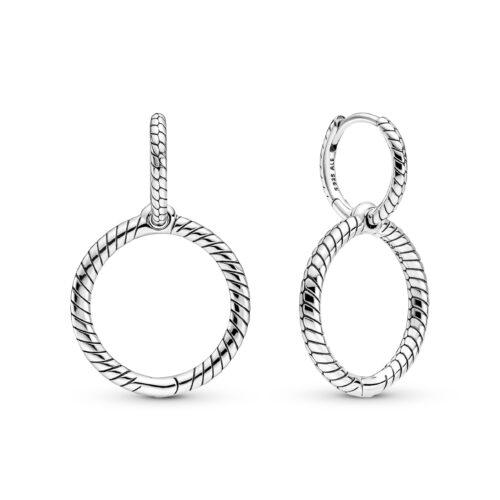Charm Double Hoop Earrings - 299562C00