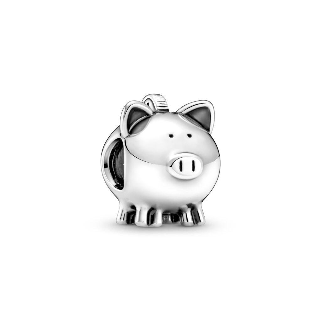 Cute Piggy Bank Charm - 799549C00