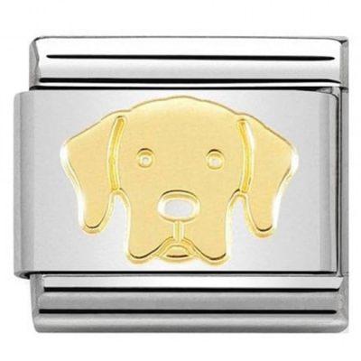 Yellow Gold Labrador Charm Stanley Hunt Jewellers - 030162/57