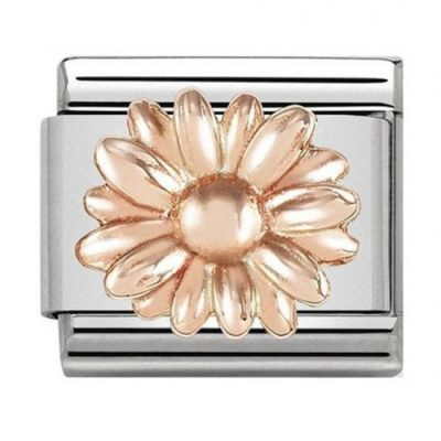 Rose Gold Daisy Charm Stanley Hunt Jewellers - 430106/08