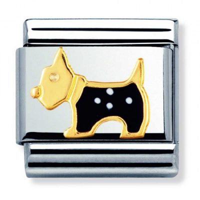 Yellow Gold Animals Terrier Dog Charm Stanley Hunt Jewellers - 030248/09