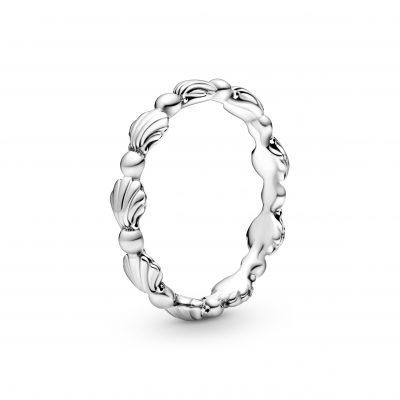 Beaded Seashell Ring - 198943C00
