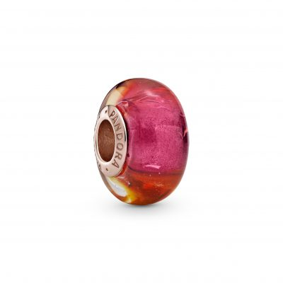 Glittering Sunset Murano Glass Charm - 789440C00