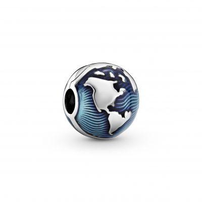 Blue Globe Clip Charm - 799429C01
