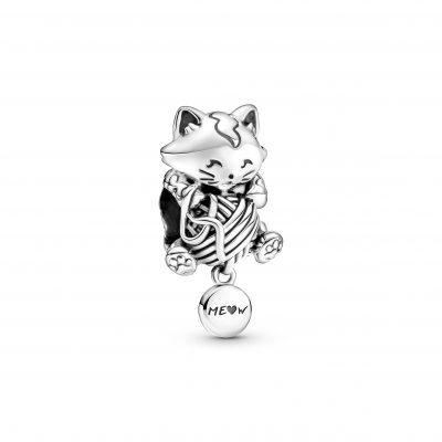 Kitten & Yarn Ball Charm - 799535C00