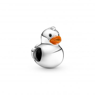 Polished Rubber Duck Charm - 799554C01