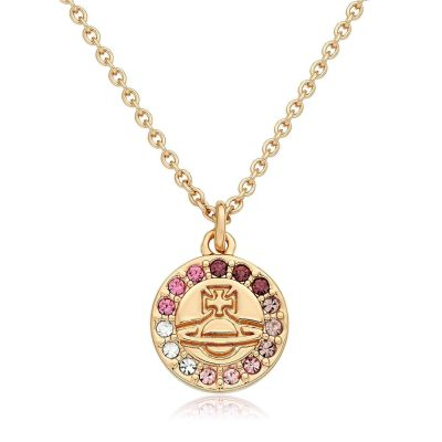 Gold Tone Claretta Necklace Stanley Hunt Jewellers - 63020282-02R368