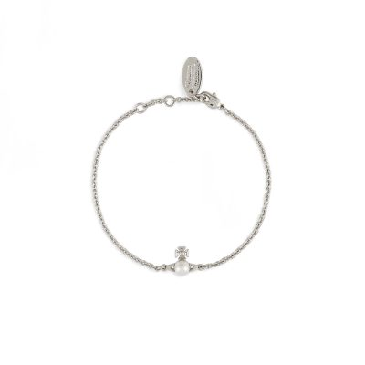 Balibina Silver Tone Bracelet - 61020177-02W299