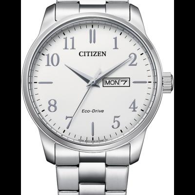 Classic White Dial Mens Watch - BM8550-81A