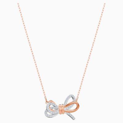 lifelong-bow-pendant--white--mixed-metal-finish-swarovski-5440636 (1)