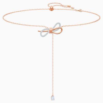 lifelong-bow-y-necklace--white--mixed-metal-finish-swarovski-5447082