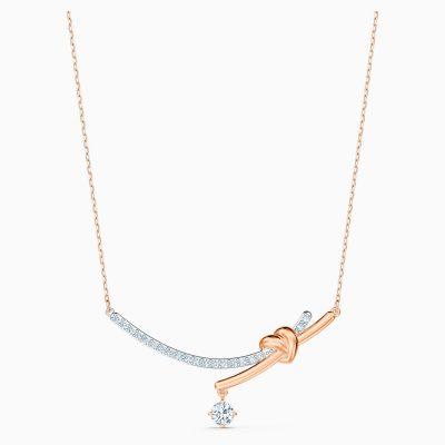 lifelong-heart-necklace--white--mixed-metal-finish-swarovski-5517951