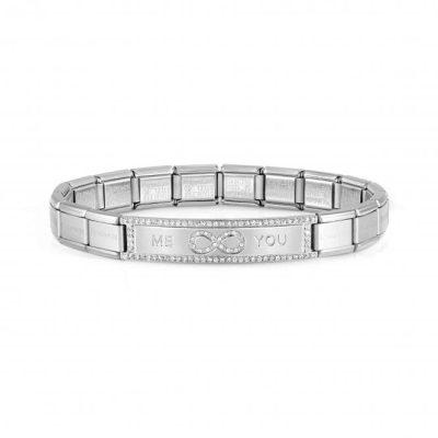 Trendsetter New York Steel CZ Me You Bracelet - 021139/015