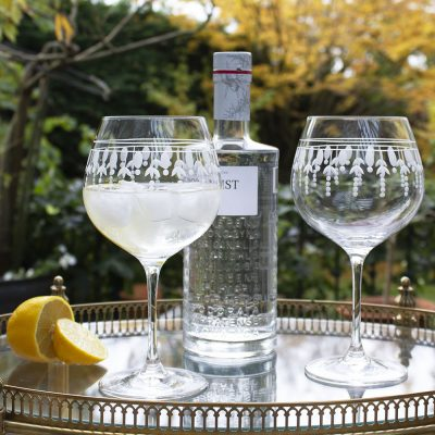 Nouveau 2 - Gin and Tonic (G&T) Copa Glasses, 210mm
