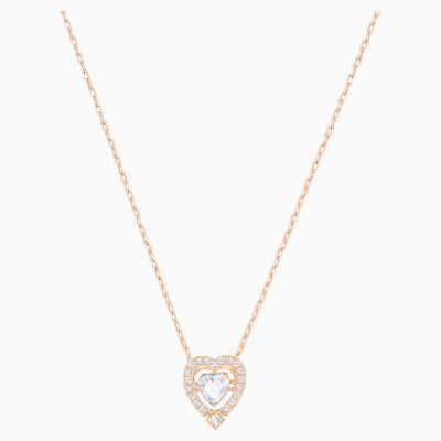 swarovski-sparkling-dance-heart-necklace--white--rose-gold-tone-plated-swarovski-5284188