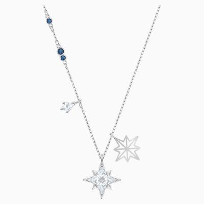 swarovski-symbolic-star-pendant--white--rhodium-plated-swarovski-5511404