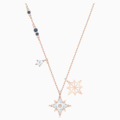 swarovski-symbolic-star-pendant--white--rose-gold-tone-plated-swarovski-5494352