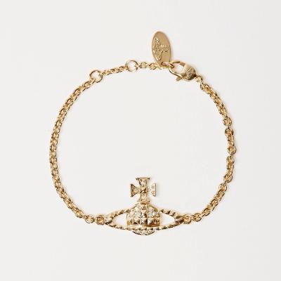 Mayfair Bas Relief Gold Tone Bracelet - 61020032-R115-MY