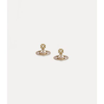 Simonetta Gold Bas Relief Earrings Stanley Hunt Jewellers - 62010267-02R378-CN